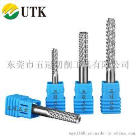 UTK钨钢玉米铣刀PCB电路板锣刀硬质密齿雕刻机刀具