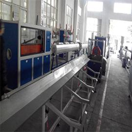 50~160塑料PVC给水排水管材挤出生产线