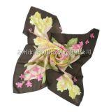真丝斜纹印花大方巾(XNL-P456)
