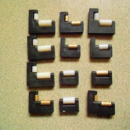 尼龙滑轮 防护罩滑轮 钣金罩铜滑轮 轴承尼龙轮