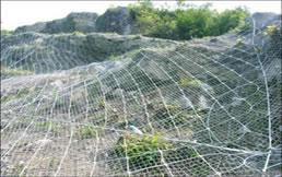 山坡勾花网