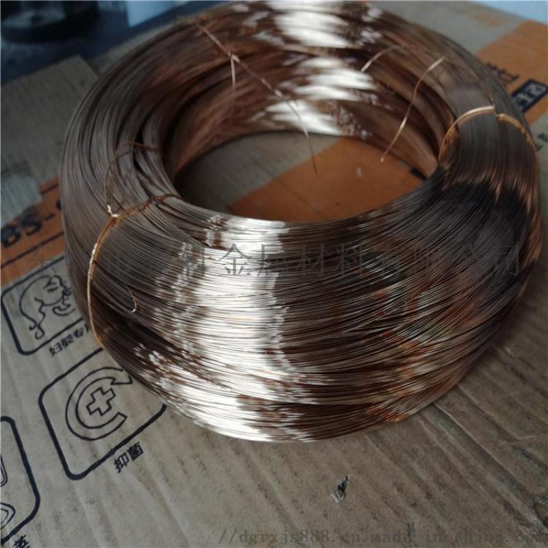 进口C5191磷青铜线 特硬弹簧磷铜线 磷铜丝
