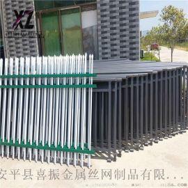 防锈蚀锌钢护栏、锌钢护栏优点、院墙锌钢栅栏