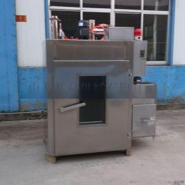 大型腊肉烟熏炉培根熏烤上色一体机不锈钢熏色机器