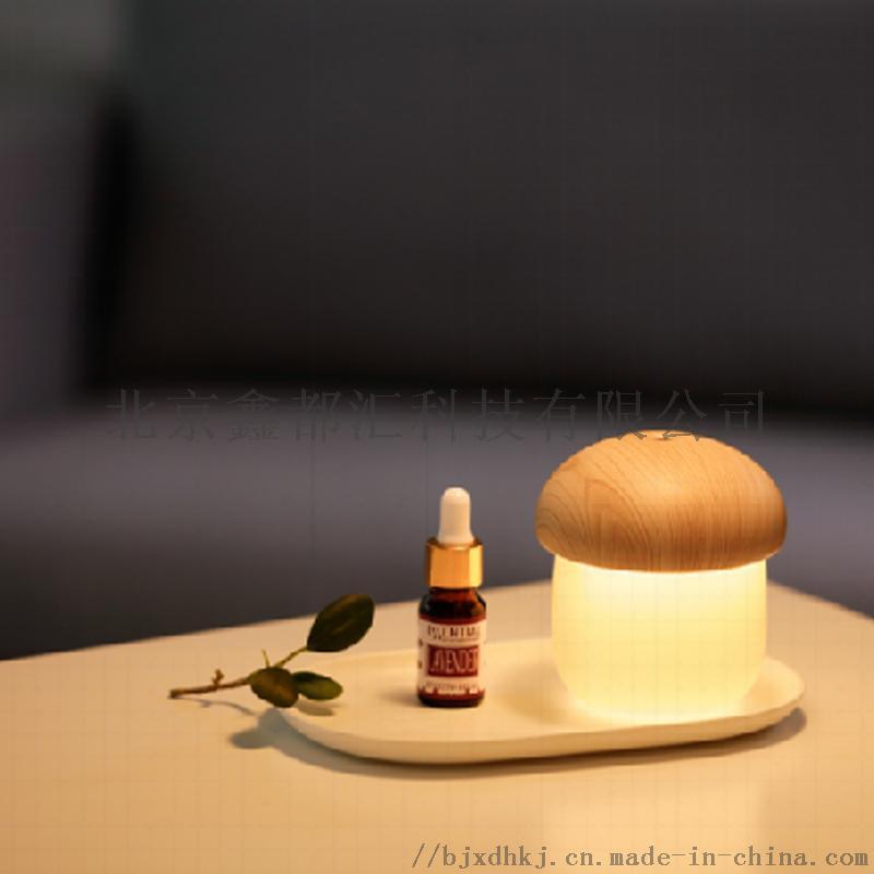 蘑菇灯加湿器 可以定制企业LOGO 促销创意礼品