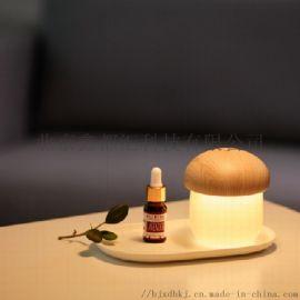 蘑菇燈加溼器 可以定制企業LOGO 促銷創意禮品