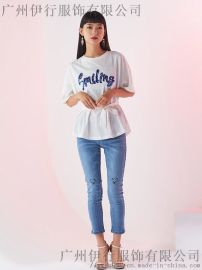 北京動物園服裝市場艾格品牌折扣女裝庫存便宜處理