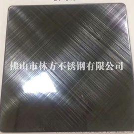 天津 不锈钢工艺板供应 双向拉丝板 双色蚀刻板