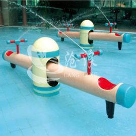 厂家供应水上游乐设备-戏水小品-喷水跷跷板