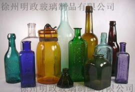 玻璃油瓶厂,玻璃瓶定做厂家,山东玻璃瓶子厂家