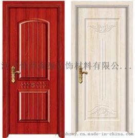 臥室用室內生態門套裝門強化木CPL無漆木門