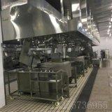 中央厨房设备-潍坊中央厨房生产线加工