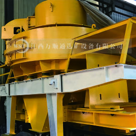 高效离心冲击式破碎机 高效人工制沙机专用设备