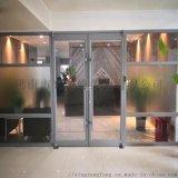 麗水地彈門,餐廳鋁型材地彈門