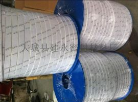 周口鹤壁安阳耐腐蚀四氟弹性带一米价格膨胀四氟密封 弹性四氟密封带