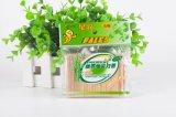 天然竹製單尖頭細牙籤飯店酒店家用環保便攜袋裝300支