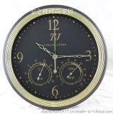 高精度壁挂式带时钟显示,温湿计,圆形,长方形两种