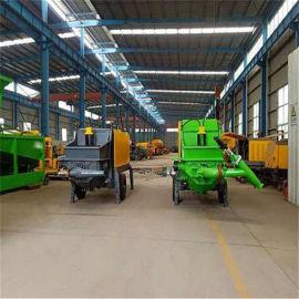 贵州黔南泵送式液压湿喷机/混凝土湿喷机工作方式