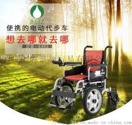 贝珍电动轮椅BZ-6301超大前轮30安锂电池