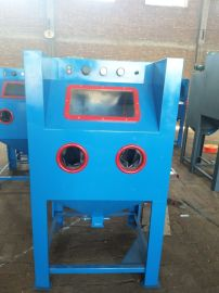 云南喷砂房厂家,广西小型手动打砂机,喷砂除锈机