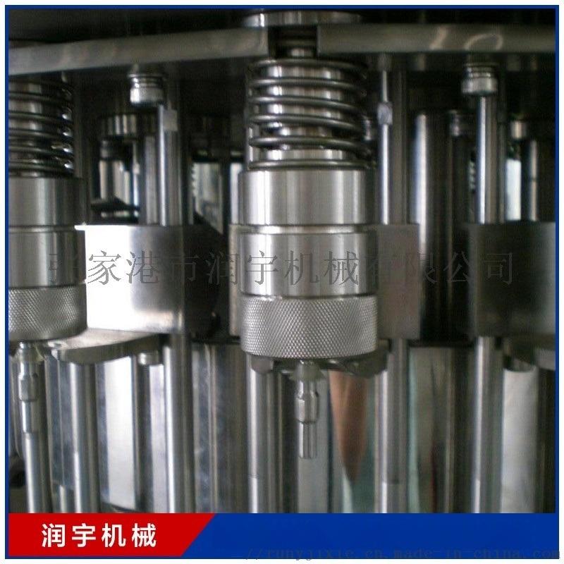 五加侖純淨水灌裝機生產線全自動液體灌裝機流水線