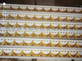 广州星洋金箔石膏线条装饰材料生产免油漆安装不褪色
