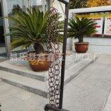天津寺廟用環形雨鏈裝飾 環形水鏈鋁合金材質