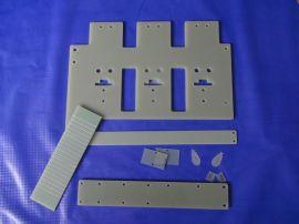 FR4环氧垫片 挡板 限位板 3240绝缘材料CNC精雕加工成型