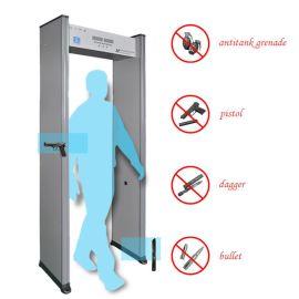 单区金属探测安检门 无边灯安检门 新疆安检门 酒吧会所安检门