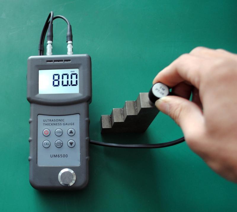 UM6500大屏碳钢厚度检测仪,钢板测厚仪