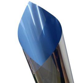销售居家窗户玻璃隔热膜宝蓝色阳台玻璃贴膜