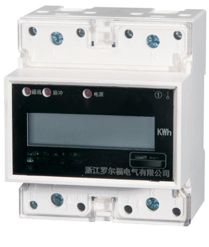 DDS228-D單相多功能導軌表,4P液晶顯示,充電樁專用