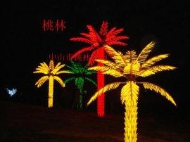 桃林LED树灯-Y512油棕椰树灯