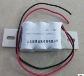迪生2/3AA0.4Ah镍镉充电电池
