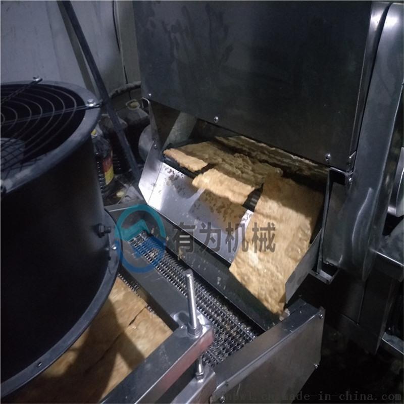 薄脆油炸机油炸线专业生产厂家可带料试机
