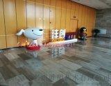 玻璃鋼京東標誌吉祥物狗雕塑卡通IP公仔動漫風靡全球