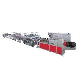 金韦尔PVC结皮发泡板生产线设备