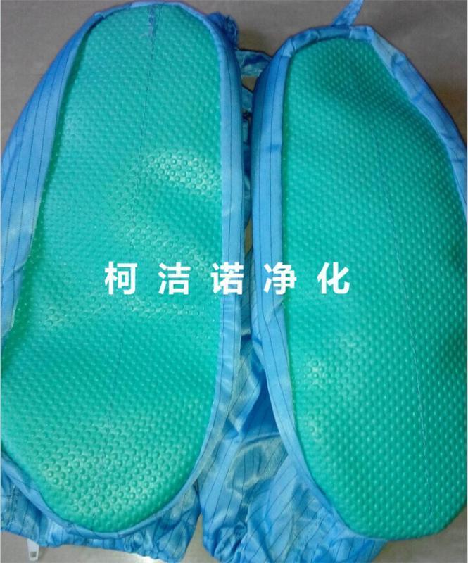 防静电软底鞋 连体服鞋子 长筒高筒靴 绿胶底鞋套 防尘洁净鞋套 劳保用品