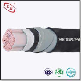 金鑫电缆 YJV22 额定电压0.6/1kV铜芯交联聚乙烯绝缘聚氯乙烯护套钢带铠装电力电缆