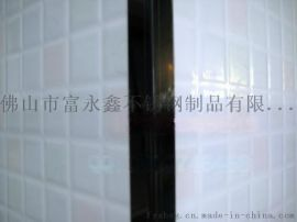 不锈钢黑钛金展示架