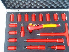 安防牌绝缘套筒手柄-套筒组合工具