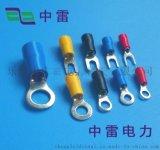 长期销售**电源端子Y型 叉形预绝缘端头 Y型冷压接线端子