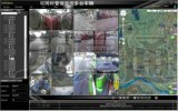 车景通 3G无线车载行车记录仪 GPS实时实位车载记录器 四路车载视频监控器