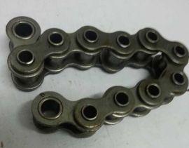 厂家直销工业链条双节距输送链不锈钢链条滚子输送链条