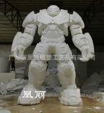 泡沫雕塑工艺品 动漫机器人 泡沫吊装卡通人物3d雕刻