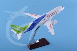 飞机模型30厘米C919中国商飞模型飞机