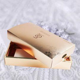 定做化妆品面膜彩盒 金卡纸抽屉式纸盒护肤面膜外盒包装纸盒