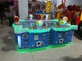 虚拟钓鱼机 钓鱼游戏 儿童电玩设备 6人钓鱼机