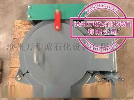 不锈钢材质的快开盲板 收缩自如安全自锁 功能强大