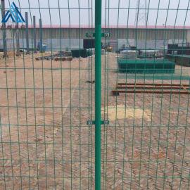 围墙防护栏 浸塑1.8米围栏网